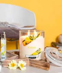 <b>Свеча ароматическая</b> в стеклянной банке Цветок хлопка <b>Cotton</b> ...