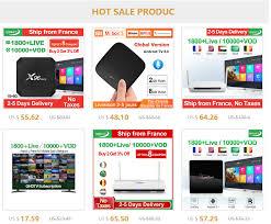 Algeria <b>IPTV</b> X96MINI TV Box Android 7.1 1 Year QHDTV <b>IPTV</b> ...