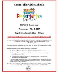 great falls public schools great schools great jobs great falls kindergarten registration