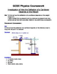 Physics  Guidance notes on experimental work  edexcel new spec AS     MISiS Secondary School