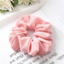 1PC <b>Silky Satin</b> Hair Scrunchies Women <b>Elastic</b> Hair Bands Bright ...
