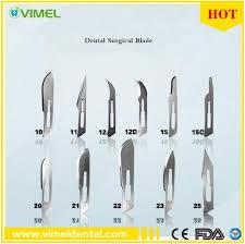<b>China 100 PCS</b>/<b>Box</b> Scalpel Blades for Dental Medical Stainless ...