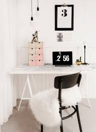 a faux marble desk another clever diy desk the tabletop with marble printed paper chic ikea micke desk white