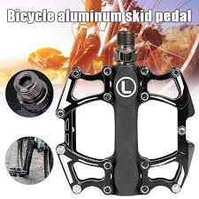 Hot <b>1pair Bike Pedal Aluminum</b> Alloy Bearing Anti slip Mountain ...