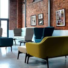modern office lounge furniture. harc single seater low back modern office chair by ocee design lounge furniture c