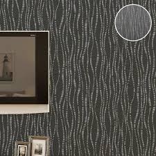 bathroom textured gray wallpaper textured plain charcoal striped wallpaper roll vinyl waterproof wall p