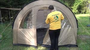 Кемпинговая <b>палатка Trek Planet</b> Vario 4 - YouTube