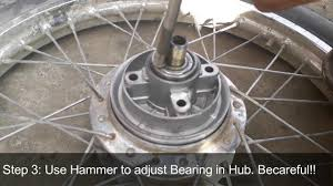 <b>Motorbike Rear</b> Tyre Grari Hub Changing - YouTube