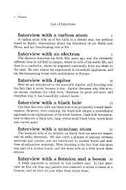 from quarks to black holes interviewing the universe 11 contents xiii interview