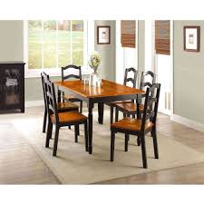 dining table interior design kitchen: brilliant stylish walmart dining table and bench interior design inspirations with walmart dining room sets