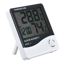 For <b>HTC</b>-<b>1 Indoor Room LCD</b> Electronic Temperature Humidity ...
