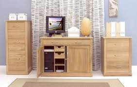 mobel oak hidden home office aston solid oak hidden