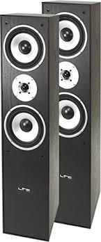 LTC Multicav 3-way stand speaker boxes (<b>500 Watt</b> PMPO, bass ...