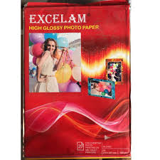 Excelam <b>High Glossy Photo Paper</b> at Rs 47 /pack | ग्लॉसी ...