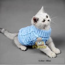 <b>NEW</b> Spaghetti Color Warm <b>Autumn Winter</b> Cat Sweater <b>Pet</b> Jumper ...