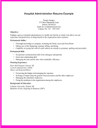 administrative assistant resume template doc   sample cover    administrative assistant resume template doc administrative assistant resume sample resume example    hospital administration resume