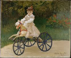 claude monet jean monet on his hobby horse the met public middot enlarge