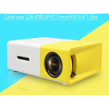 LED <b>проектор Unic YG-300</b> с поддержкой HD видео портативный ...