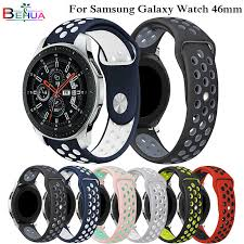Sport <b>Silicone strap</b> for Samsung galaxy <b>watch</b> 46mm SM-R800 ...