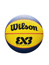 <b>Мяч</b> для стритбола <b>FIBA 3X3</b> MINI RUBBER BASKETBALL <b>Wilson</b> ...