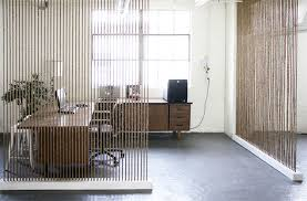 brick house rope wall office screen partition ideas office partition designs