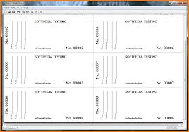 3 raffle ticket template receipt templates raffle ticket in the main window of the software you can create