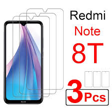 <b>3pcs Protective Glass</b> On For Xiaomi Redmi Note 8T Screen ...
