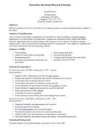 resume for secretary   skyemag comsecretary resume example two executive secretary resume example tobrkpk