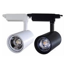 Free Shippping COB <b>30W</b> LED Track light AC110 240V Track ...