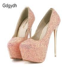Gdgydh Fashion <b>Women</b> Heels Platform <b>Shoes 2019</b> New <b>Spring</b> ...