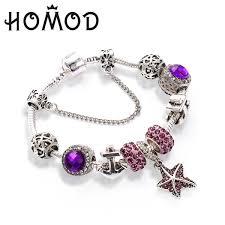 <b>HOMOD Summer Styles</b> Ocean Series Charm Bracelet Starfish ...