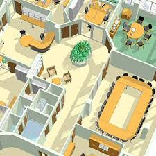 office plan interiors office space planning three dimensional drawing cad office space layout