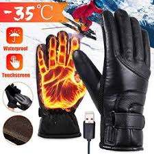 Unisex USB Electric Heated Gloves Winter Hands Warmer ... - Vova
