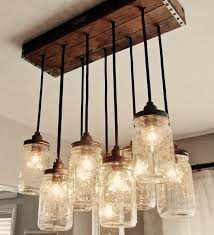 yet another use for those pallets i mentioned in an earlier post this build diy mason jar chandelier