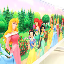 <b>108x180cm</b> Cartoon Princess Tablecloth <b>Party</b> For Kids Girls Happy ...