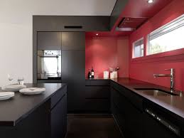 modular kitchen colors:  black beauty  beautiful black modern kitchen cabinets homebnc