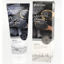 <b>Пенка для умывания</b> 3W CLINIC <b>Charcoal</b> Cleansing Foam ...