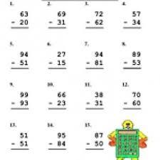Double Digit Subtraction Worksheet - Have Fun Teaching