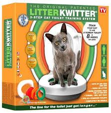 Система приучения к туалету для кошек <b>Litter Kwitter</b> Система ...