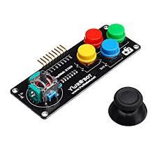 YwRobot <b>Joystick PS2 Game</b> Rocker <b>Push</b> Button Module for ...