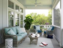 good looking lloyd flanders in porch beach style with light blue ceiling next to wicker furniture alongside smith and hawken furniture and removable screen beachy style furniture
