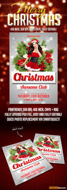 christmas flyer psd template com christmas flyer psd template