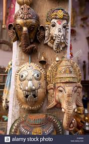 paint bedroom photos baadb w h: carved wooden masks of ganesha the elephant faced god souvenirs for sale india