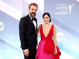 David Harbour And <b>Lily Allen</b> Got Married