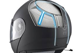 Schuberth C3 Pro Motorcycle Helmet with Integrated Antennae