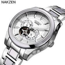 <b>IK</b> colouring <b>men's</b> watches <b>automatic mechanical</b> skeleton wristwatch