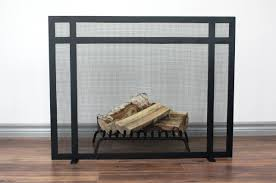 fireplace screens glass for log home sale  deseosol