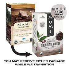 Numi <b>Organic Tea Chocolate Pu</b>-<b>erh</b>, 16 Count Box of <b>Tea</b> Bags ...