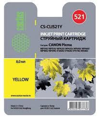 <b>Картридж</b> cactus CS-<b>CLI521Y</b> — купить по выгодной цене на ...
