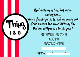 dr seuss thing thing birthday party giggles galore pin this